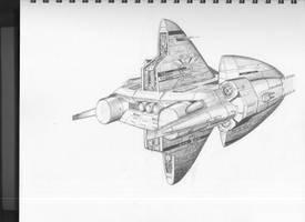 Tempest class Tactical Cruiser by DissidentZombie
