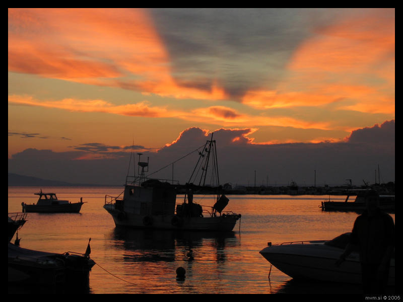 Adriatic Sunset by area-51