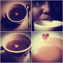 My heart in a cup.