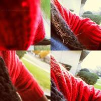16-365 RedSweaterVogue... by airicalush
