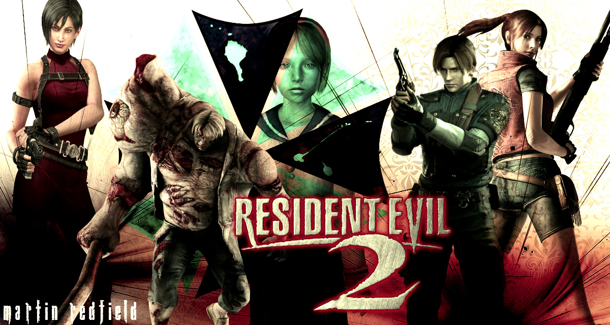 Resident Evil 2 Wallpaper: Resident Evil 2 Wallpaper By MartinRedfield On DeviantArt
