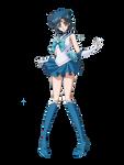 Sailor Mercury Crystal Render