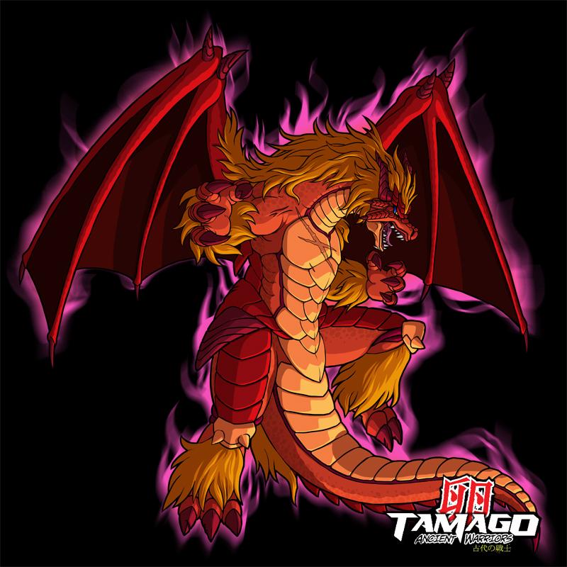 Tamago Dragon HD by MoMoJaH