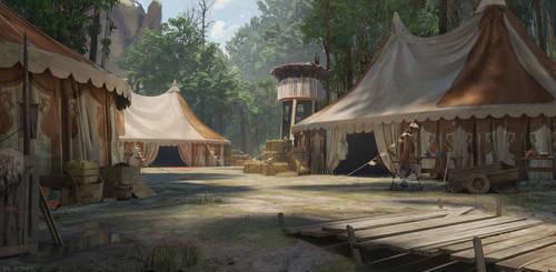 Camp by AhmedElJohani