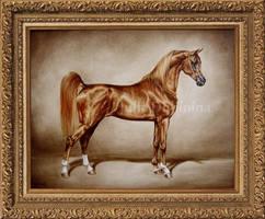 Golden arabian by Julyart
