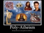 Poly-Atheism Demotivational