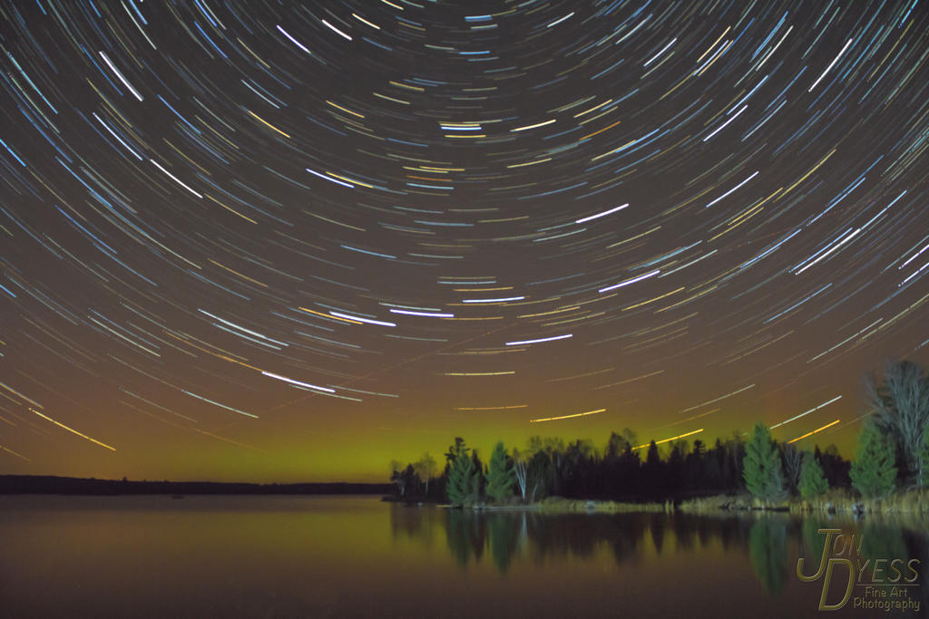 Spinning stars over northern Minnesota by hull612
