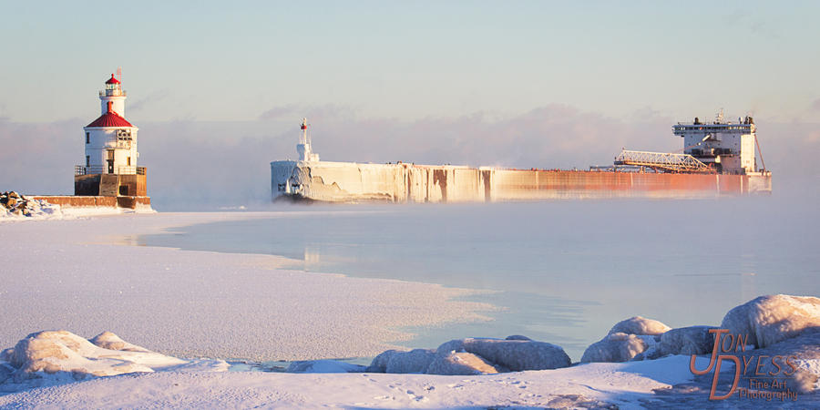 Entering the Frozen Harbor by hull612