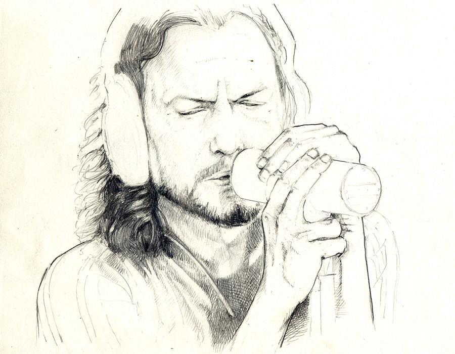 Pearl Jam - Eddie Vedder by The-Music-House