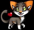 Page Doll: Mini Cat Jaytsa by Cherry-Chocoalate