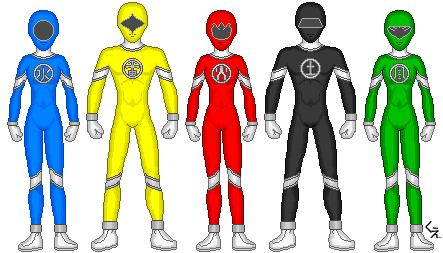 Power Rangers NEO by kram-elbog