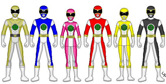 Power Rangers Global Defenders by kram-elbog
