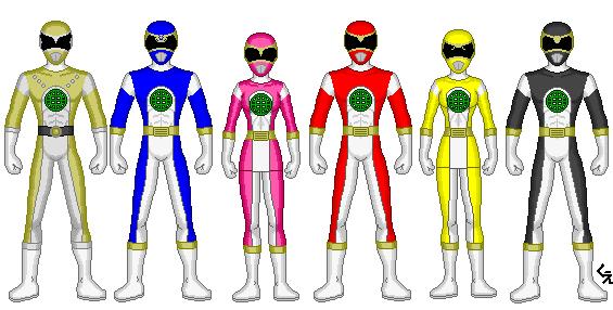 Power Rangers Global Defenders by kram-elbog