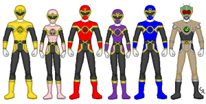 Power Rangers Chitin Warriors