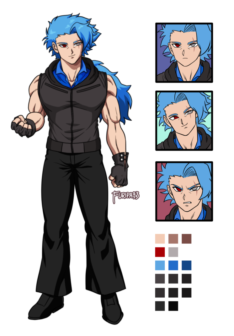 DBZ Carmeo Misaya Ref sheet by bloodhound1234
