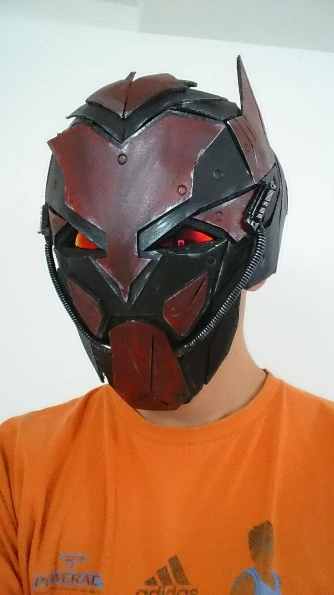 cyber devil helmet by nemo13400