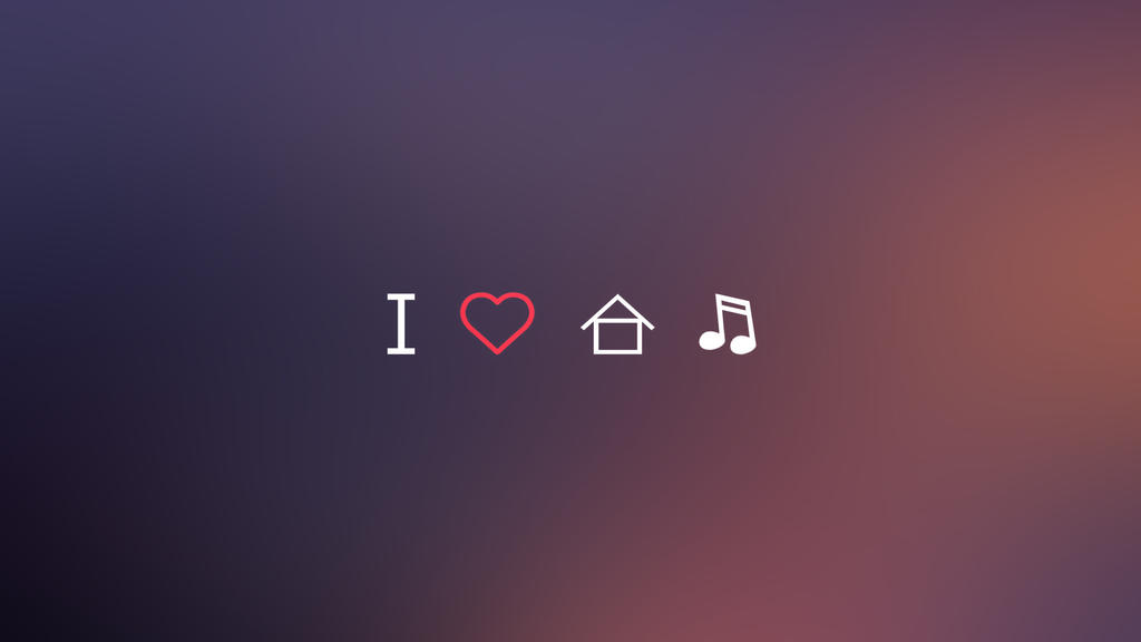 I love house music wallpaper 1080p 16 9 by semifinal on for I love house music