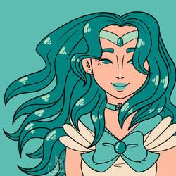 Sailor Neptune by LetiJoi