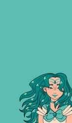 Sailor Neptune phone wallpaper by LetiJoi