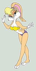 Lola Bunny redux by VixenFinder