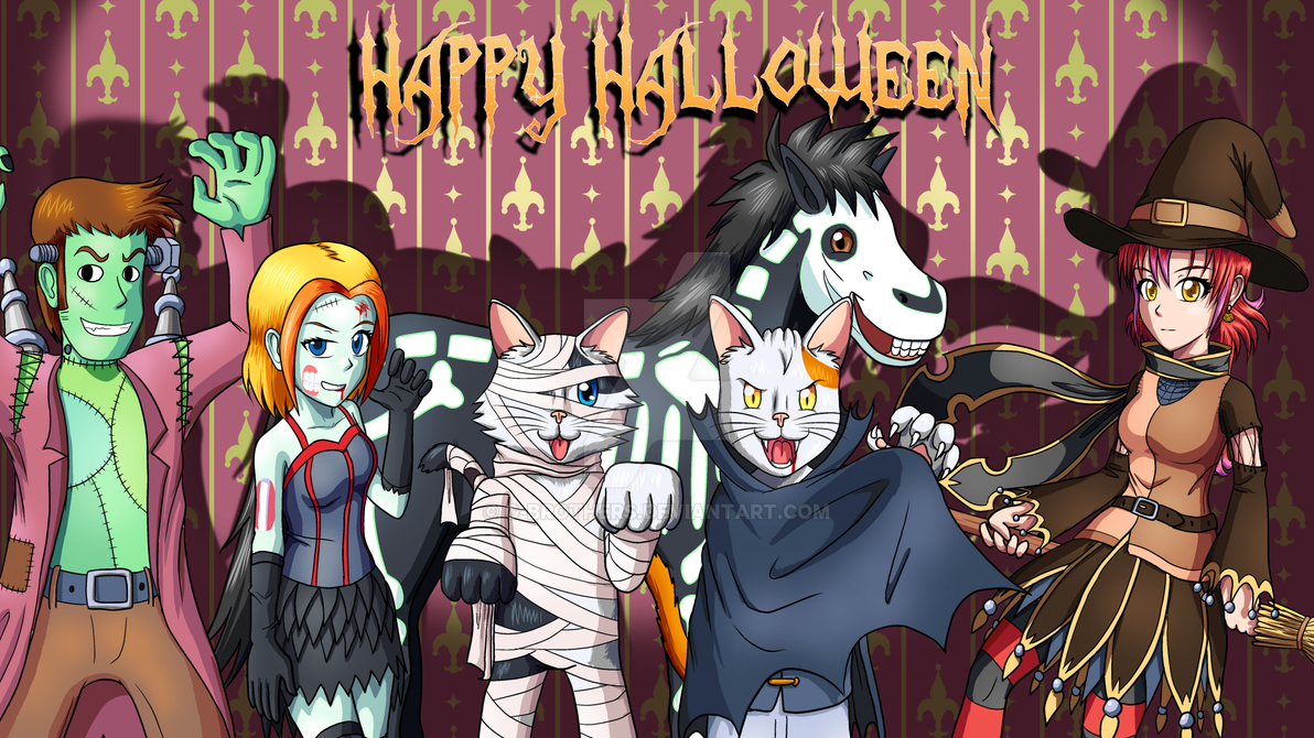 Happy Halloween by G-Brothers