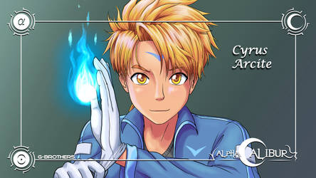AlphaCalibur - Cyrus Arcite by G-Brothers