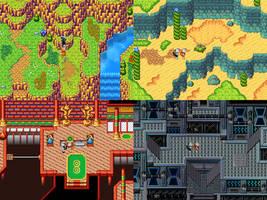 Minka and Tapsy RPG Screenshots