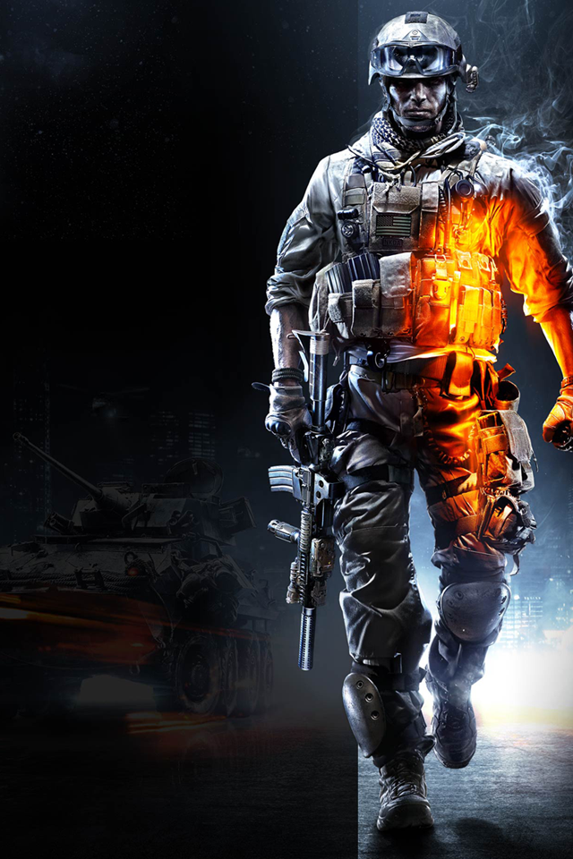 Battlefield 3 iPhone Wallpaper by Dseo