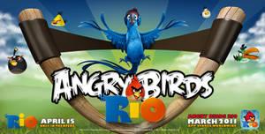 Angry Birds Rio Wallpaper