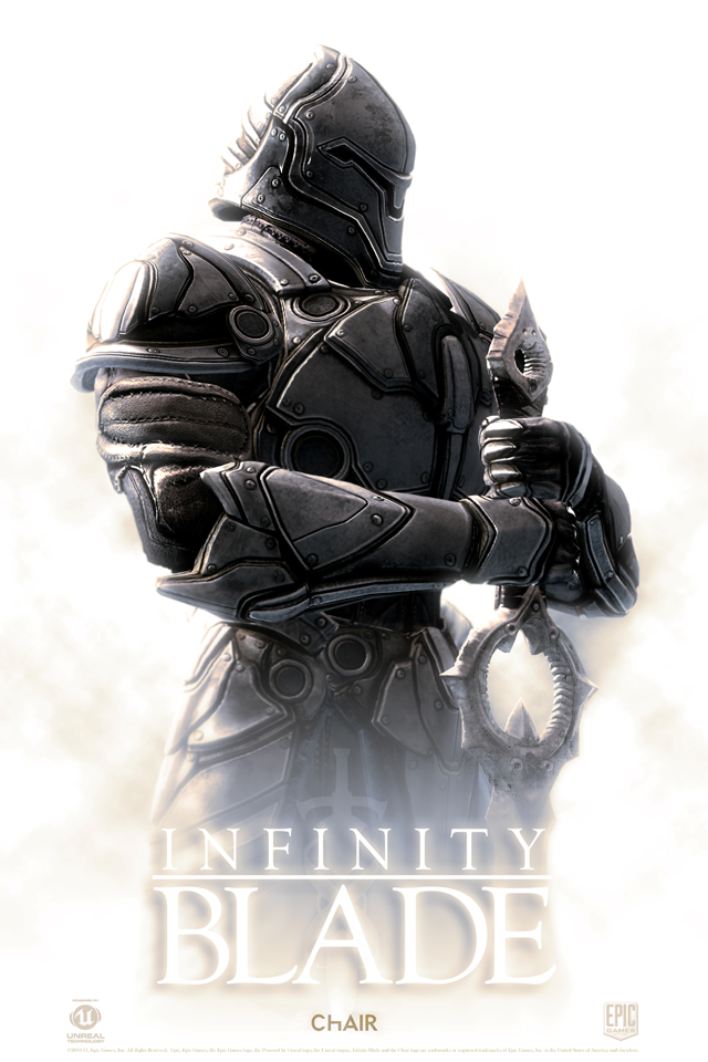 Infinity Blade iPhone Wallpape by Dseo