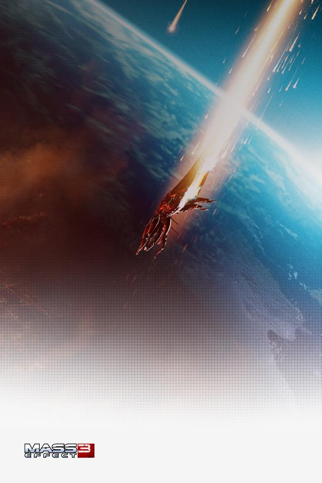 Mass Effect 3 iPhone Wallpaper by Dseo