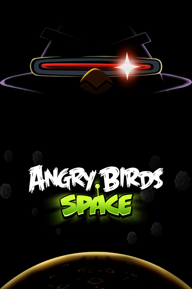 angry birds space iphone 4 wallpaper by dseo d4roc7j Download Angry Birds Space Wallpaper for PC, iPhone and Mobiles
