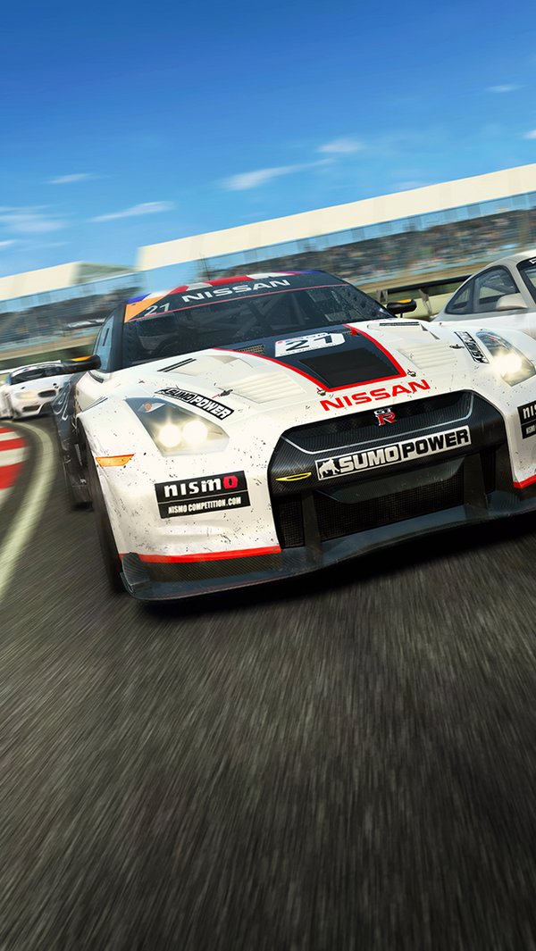 Real Racing 3 HD   IPhone 5 Wallpaper By Dseo ...