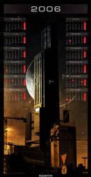 CityScape33 Calendar by pshem