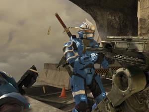 Hayabusa's machine gun of ride