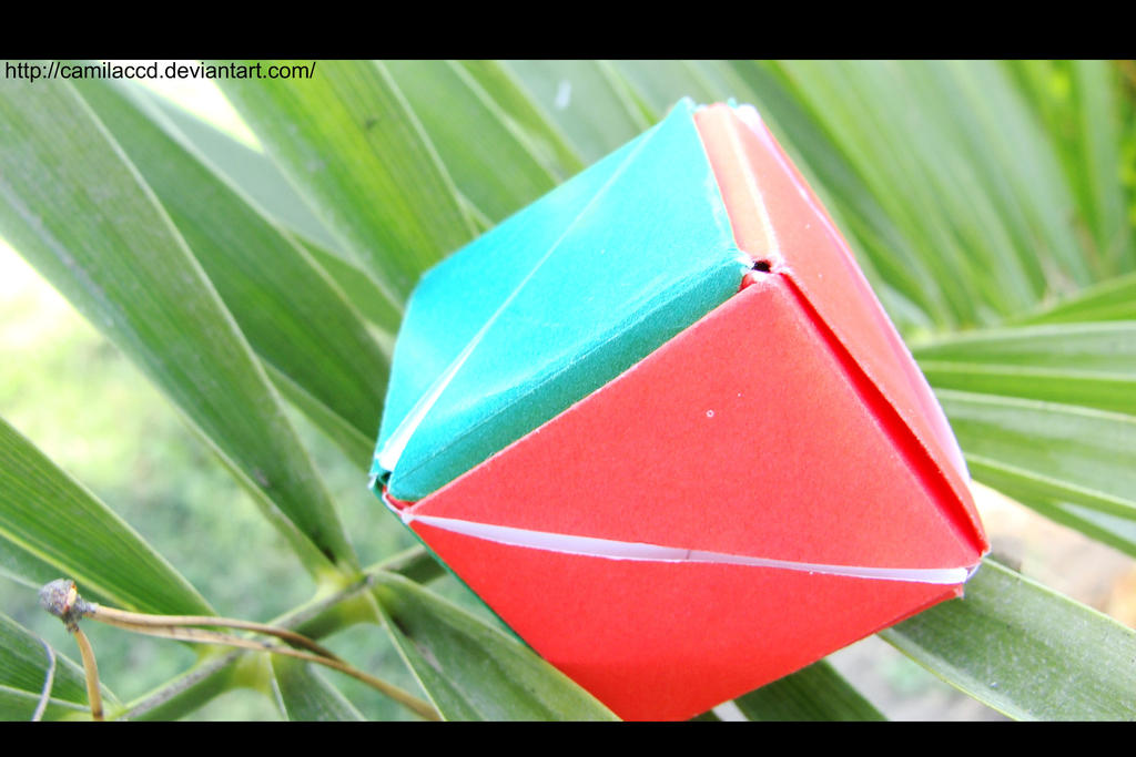 Origami flower cube 1 by camilaccd on deviantart origami flower cube 1 by camilaccd mightylinksfo