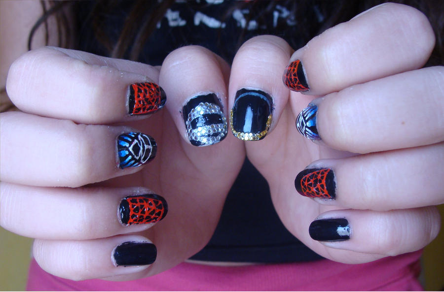 Daft Punk Nails By Camilaccd On Deviantart
