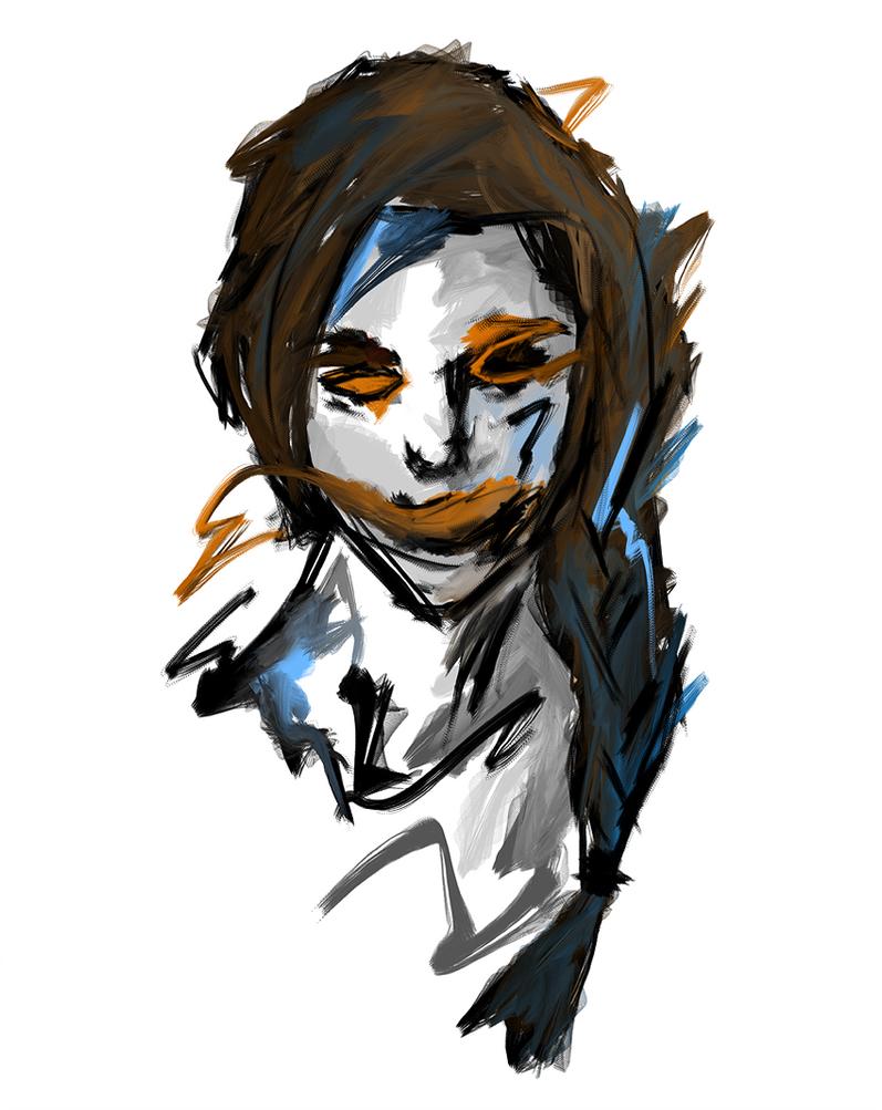 Beauty 2 sketch by kybel