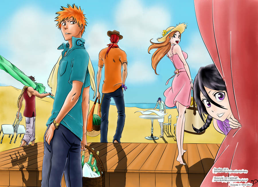 Bleach Summer Time!~ by Fodderstein