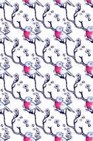 bird pattern by yennie