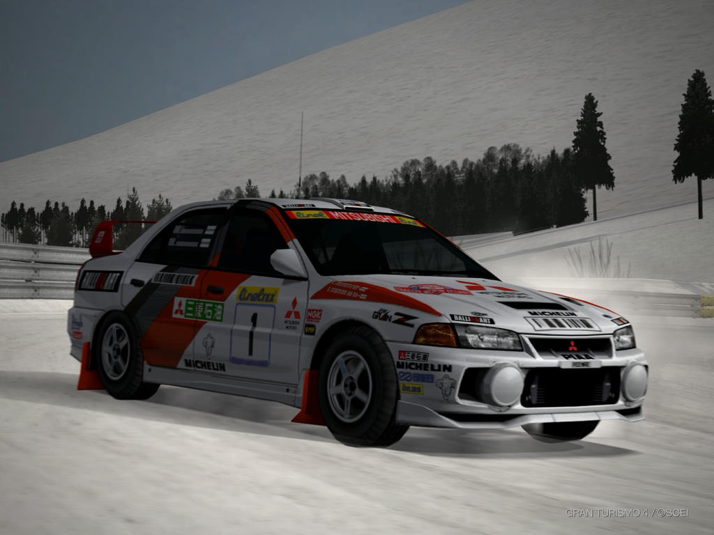 Mitsubishi Lancer Evolution IV Rally car 1997 by patemvik on ...