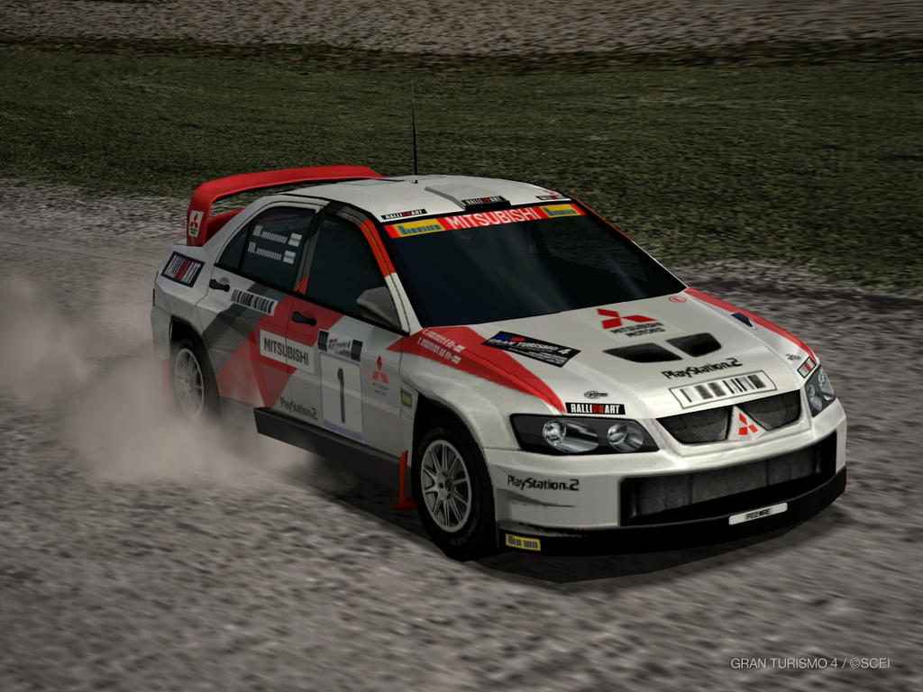 Mitsubishi Lancer Evolution Super RALLY Car 2003 by patemvik on ...