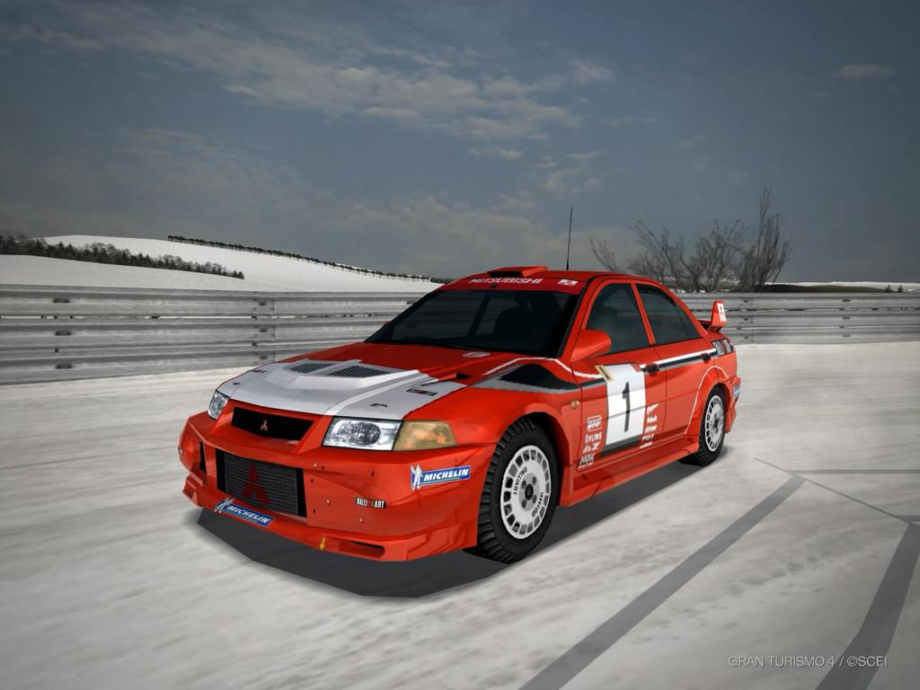 Mitsubishi Lancer Evolution VI Rally car 1999 by patemvik on ...