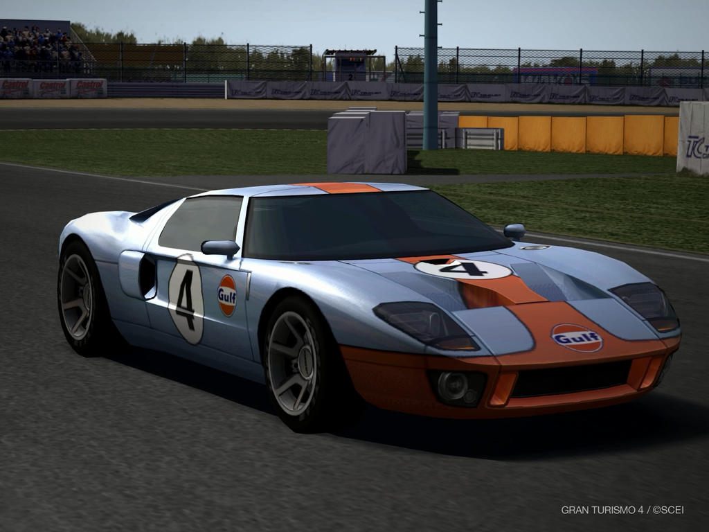 Ford Gt Lm Race Car  By Patemvik