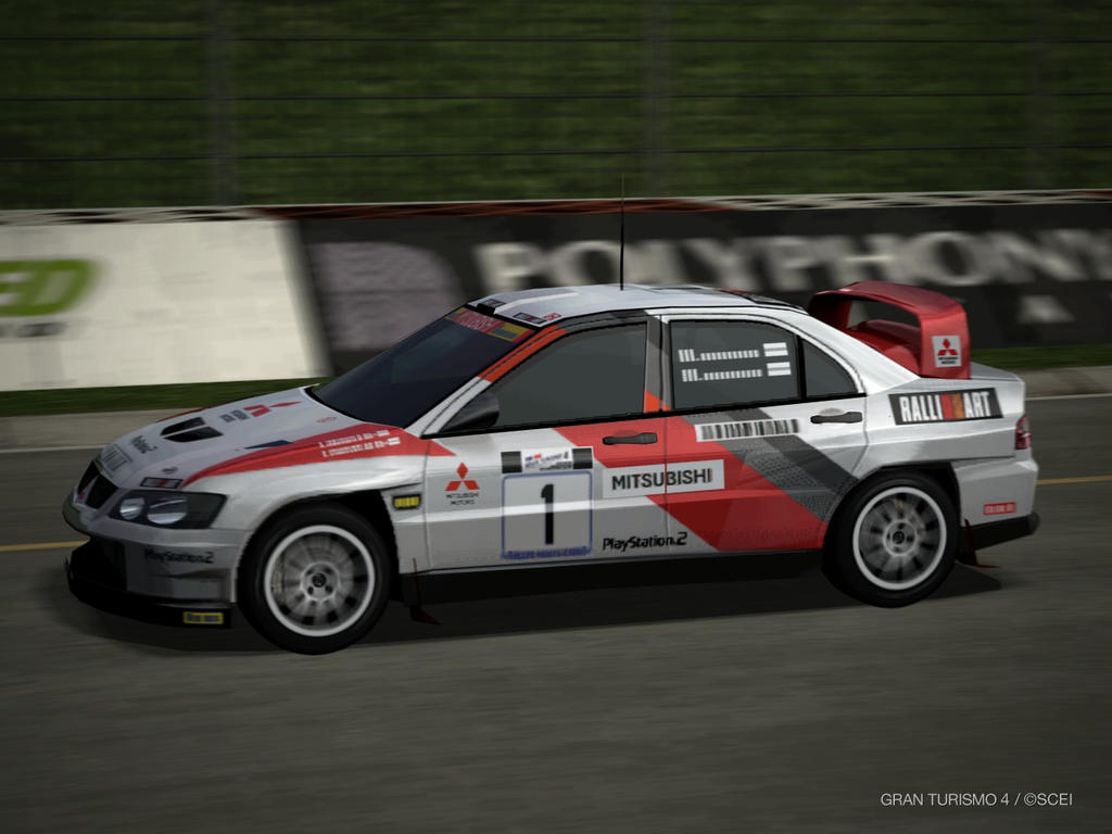 Mitsubishi Lancer Evo Super RALLY Car driving by patemvik on DeviantArt