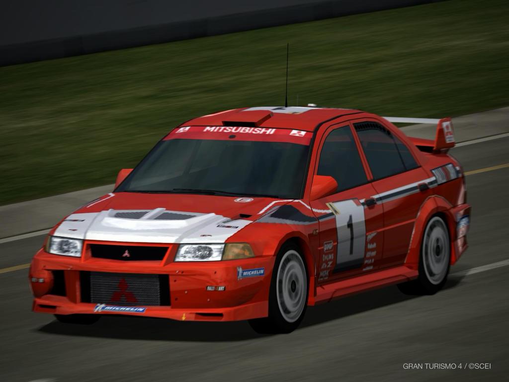 Mitsubishi Lancer Evolution VI Rally car driving by patemvik on ...