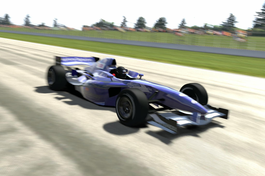 german driver driving in Superspeedway Indy 4 by patemvik