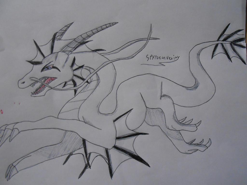 Line Art Dragon : Water dragon line art by spyroconvexity on deviantart