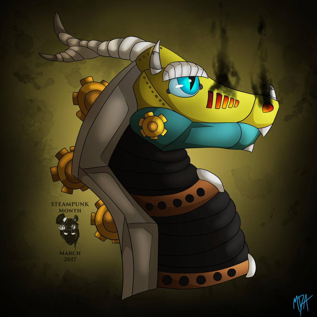 Steampunk Zefron by Spyroconvexity
