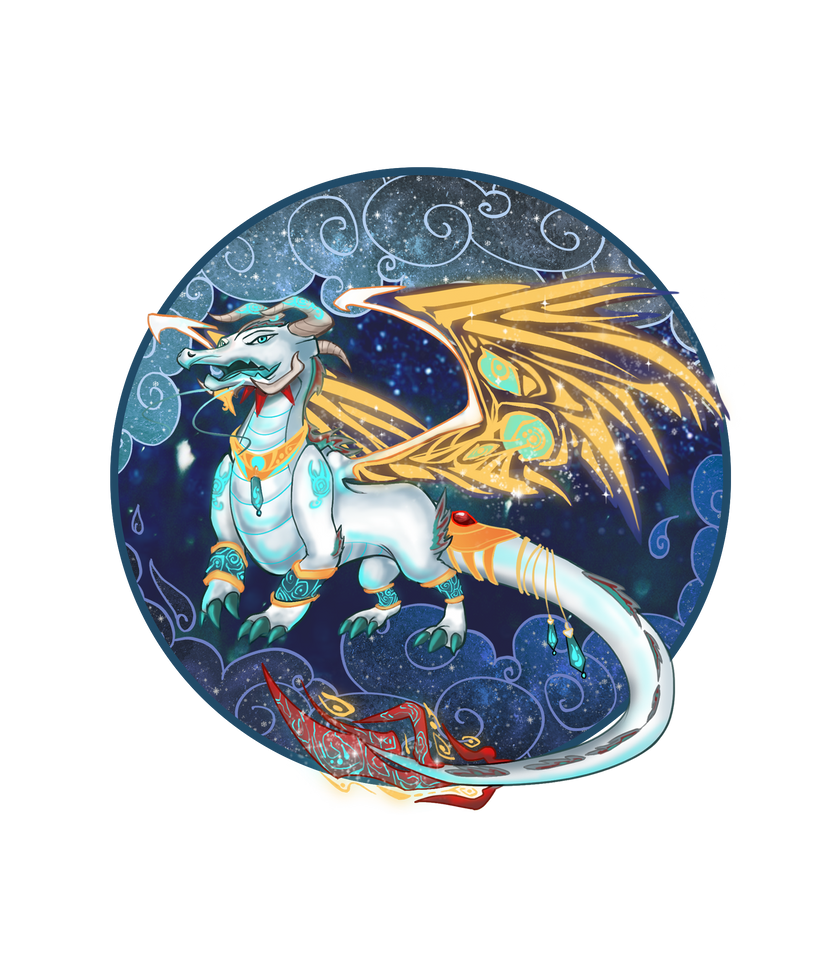 Orion the Galaxy Dragon by Spyroconvexity